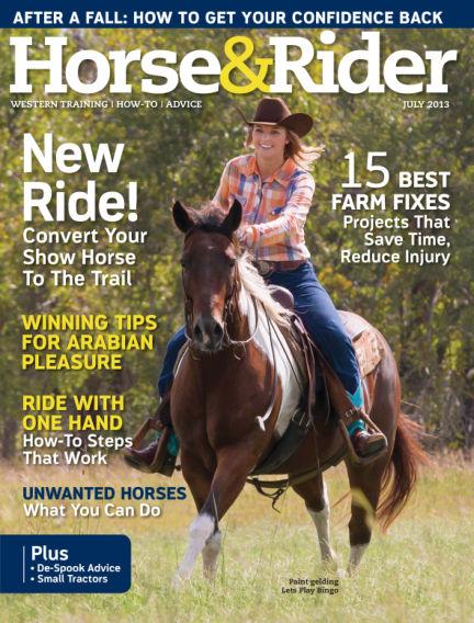 Horse & Rider June 25, 2013 00:00