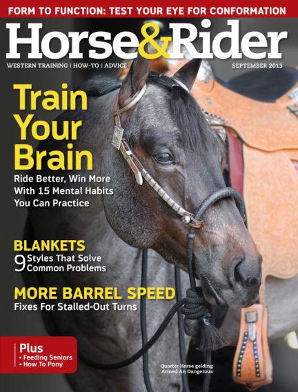 Horse & Rider August 27, 2013 00:00