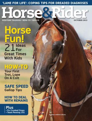 Horse & Rider October 2013