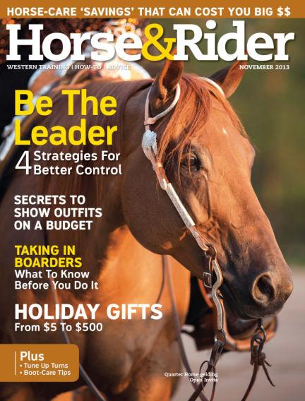 Horse & Rider October 22, 2013 00:00