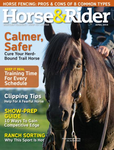 Horse & Rider March 25, 2014 00:00