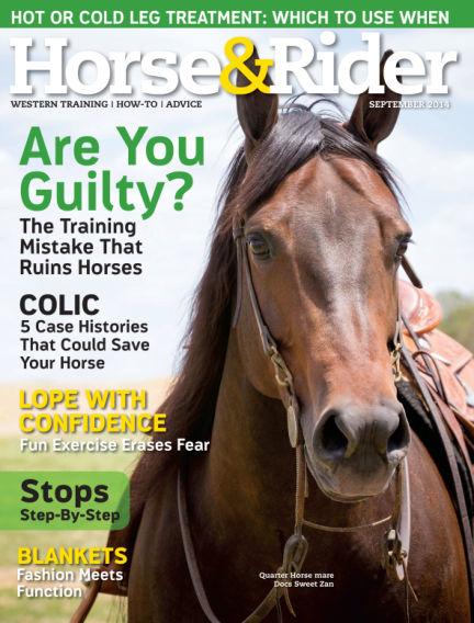Horse & Rider August 26, 2014 00:00
