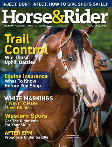 Horse & Rider September 30, 2014 00:00