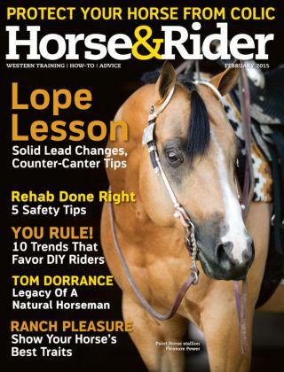 Horse & Rider February 2015