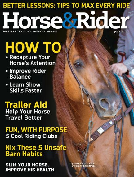 Horse & Rider June 30, 2015 00:00