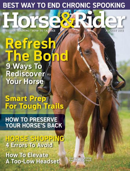 Horse & Rider July 28, 2015 00:00