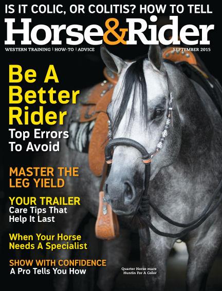 Horse & Rider August 25, 2015 00:00