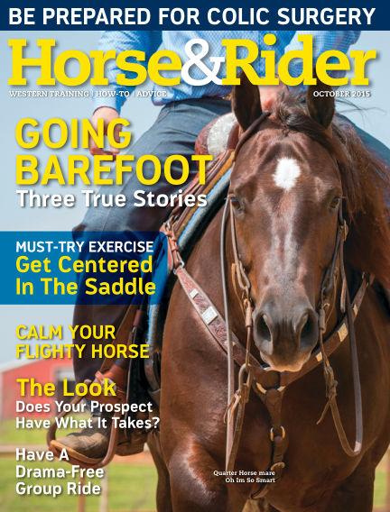 Horse & Rider September 29, 2015 00:00