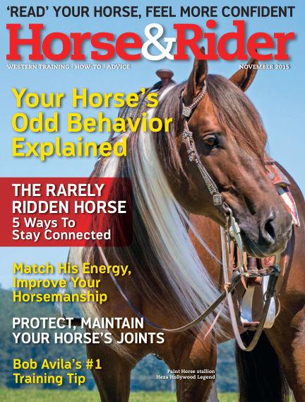 Horse & Rider October 27, 2015 00:00