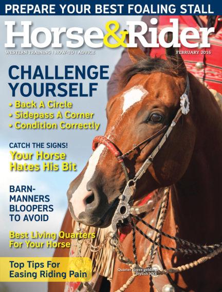 Horse & Rider January 19, 2016 00:00