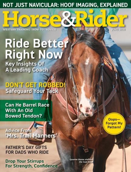 Horse & Rider May 17, 2016 00:00