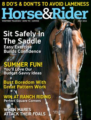 Horse & Rider Jul 2016