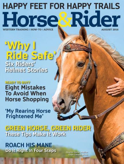 Horse & Rider July 19, 2016 00:00