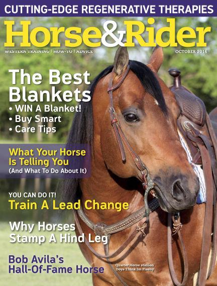 Horse & Rider September 20, 2016 00:00