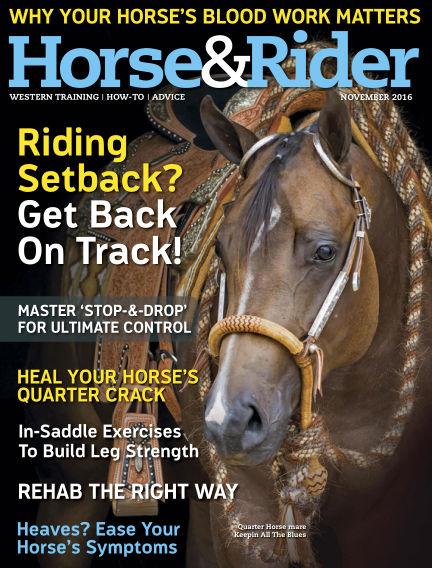 Horse & Rider October 18, 2016 00:00