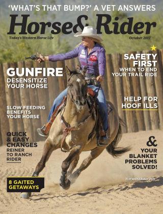 Horse & Rider Oct 2017