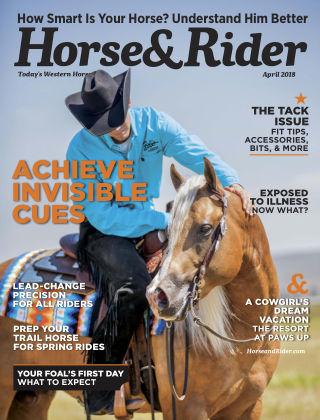 Horse & Rider Apr 2018