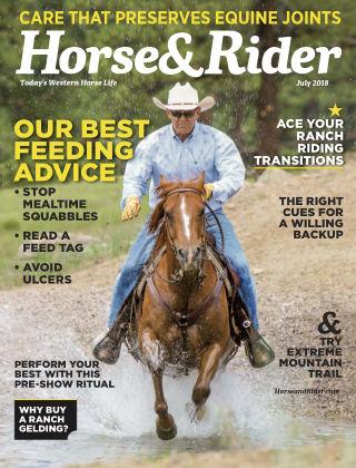 Horse & Rider Jul 2018