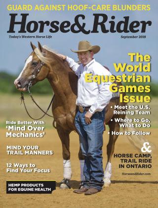 Horse & Rider Sep 2018