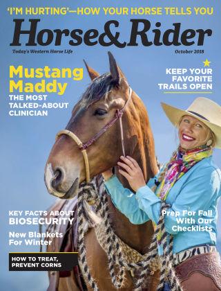 Horse & Rider Oct 2018