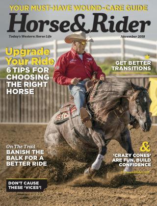 Horse & Rider Nov 2018