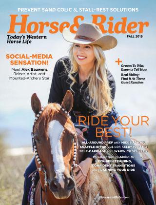 Horse & Rider Fall 2019