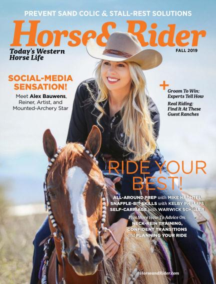 Horse & Rider August 20, 2019 00:00