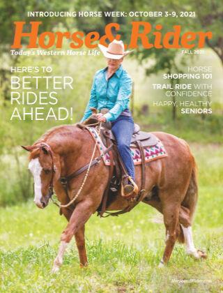 Horse & Rider Fall 2021