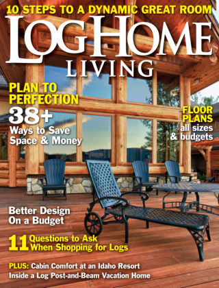 Log Home Living May 2013