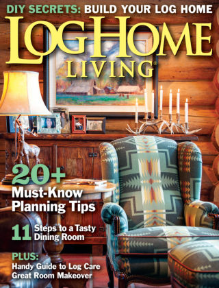 Log Home Living August 2013