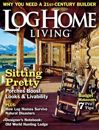 Log Home Living September 2013