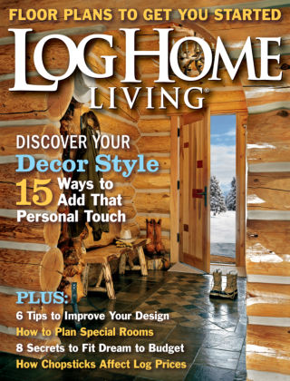 Log Home Living December 2013