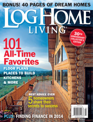 Log Home Living Jan / Feb 2014