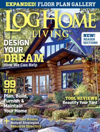 Log Home Living March 2014