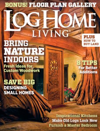 Log Home Living April 2014