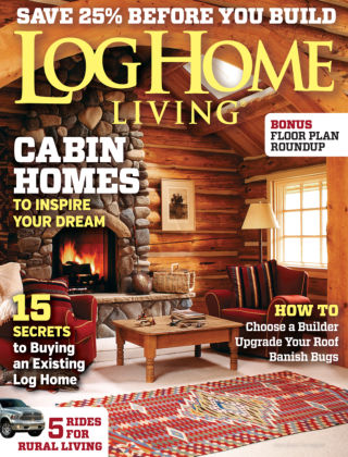 Log Home Living May 2014