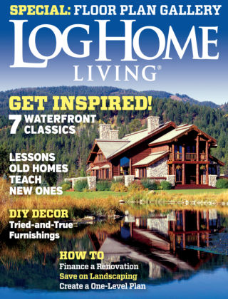 Log Home Living June / July 2014