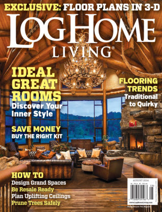 Log Home Living August 2014