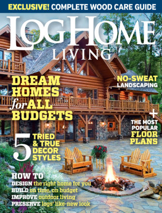 Log Home Living September 2014