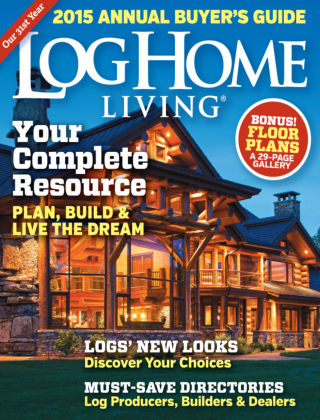 Log Home Living Annual Buyer's Guide