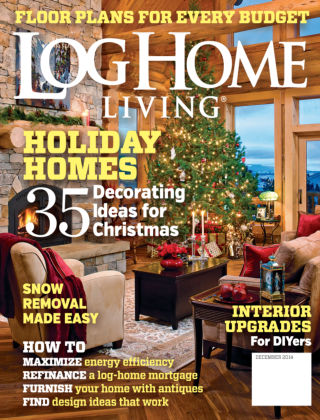 Log Home Living December 2014