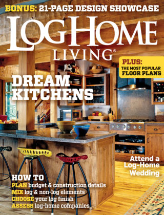 Log Home Living Jan / Feb 2015
