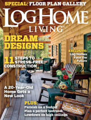 Log Home Living March 2015