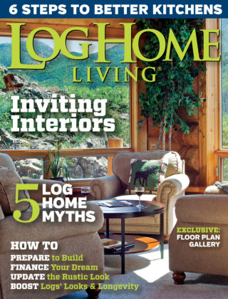 Log Home Living April 2015
