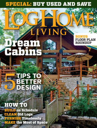 Log Home Living May 2015