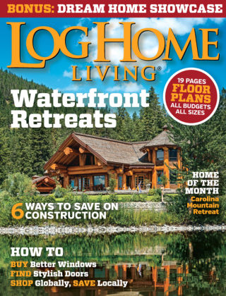 Log Home Living June / July 2015