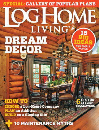 Log Home Living August 2015