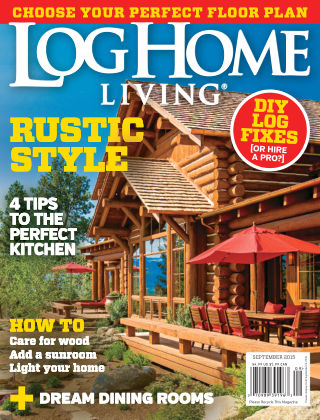 Log Home Living September 2015