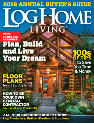Log Home Living Buyer's Guide 2015