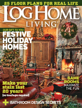 Log Home Living December 2015